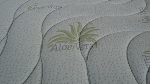 tessuto materasso aloe vera